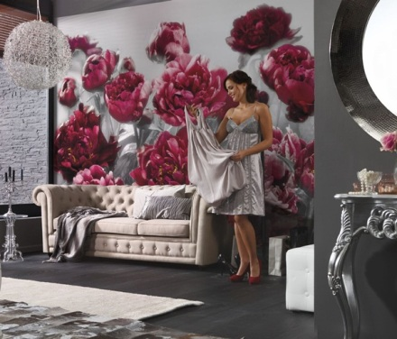 Fotomural Decoratiu Flors Grans