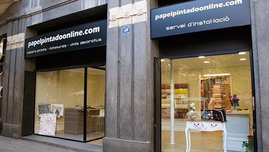 Botiga paper pintat online Barcelona
