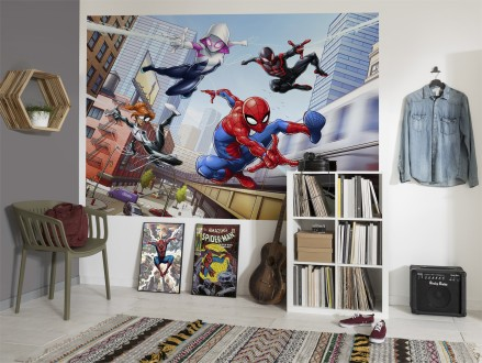 FOTOMURAL MARVEL SPIDERMAN FRIENDLY NEIGHBOURS 4-4027