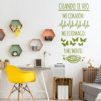 VINIL DECORATIU TEXT TE034