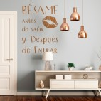 VINIL DECORATIU TEXT TE038