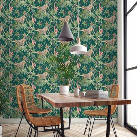 Paper pintat lleopards Kaleidoscope, nova col·lecció 2020